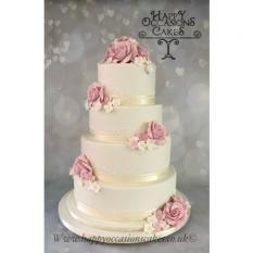 3 Tier with roses