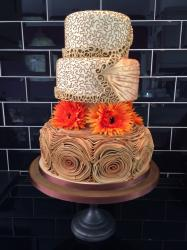 Autumn wedding cake...
