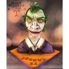 Joker bust from Batman the cartoon