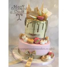 Tiered drip cakes
