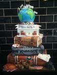 Travellers wedding cake...